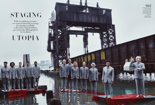 Article Preview: STAGING UTOPIA, OCTOBER 2019 | Vogue