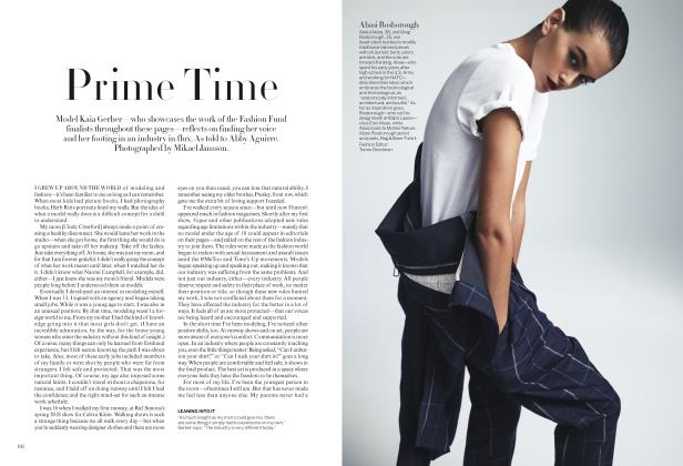 Article Preview: Prime Time, November 2019 | Vogue