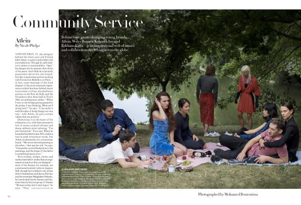 Article Preview: Community Service, November 2019 | Vogue