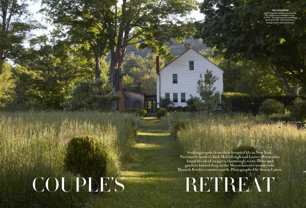 Article Preview: COUPLE'S RETREAT, November 2019 | Vogue