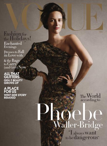 Vogue magazine cover for DECEMBER 2019 2019