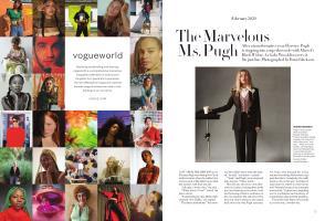 The Marvelous Ms. Pugh | Vogue