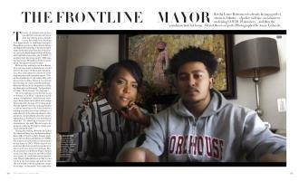 THE FRONTLINE MAYOR | Vogue