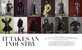 IT TAKES AN INDUSTRY   Vogue