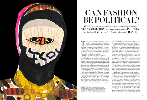 CAN FASHION BE POLITICAL?