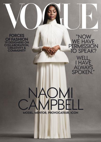 Issue: - NOVEMBER 2020 | Vogue