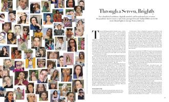 Through a Screen, Brightly | Vogue