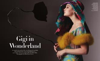Gigi in Wonderland | Vogue