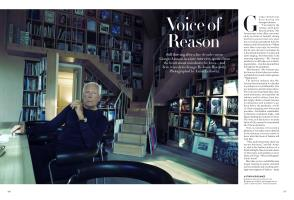 Voice of Reason | Vogue