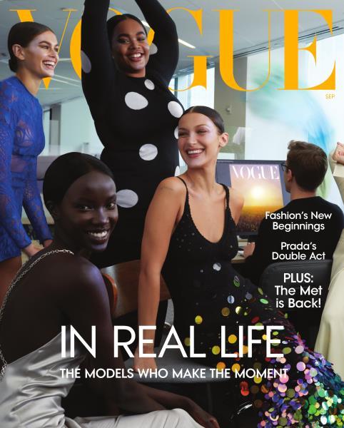 Vogue magazine cover for SEPTEMBER 2021
