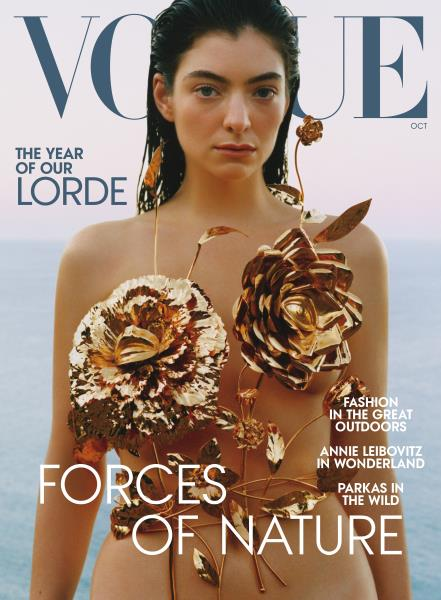 Vogue magazine cover for OCTOBER 2021