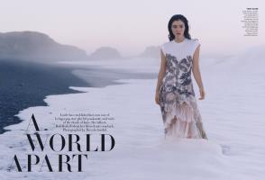 A WORLD APART | Vogue