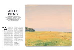 LAND OF PLENTY | Vogue